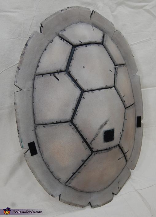 Shell Close Up, Teenage Mutant Ninja Turtle Michelangelo Costume