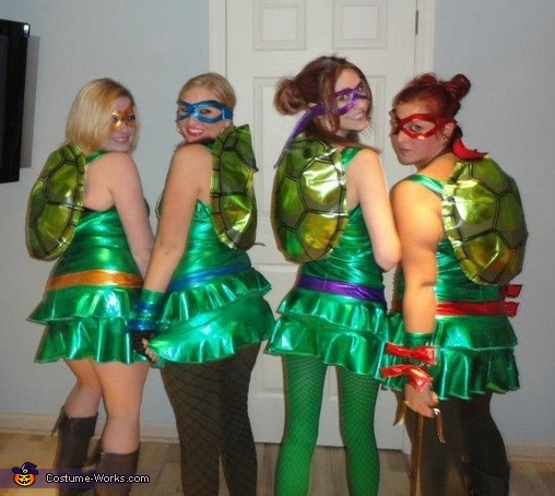 Teenage Mutant Ninja Turtles Costume & Teenage Mutant Ninja Turtles Group Costume