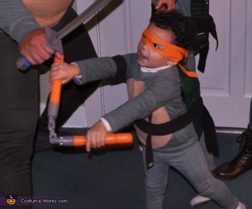 Michelangelo!, Teenage Mutant Ninja Turtles Costume