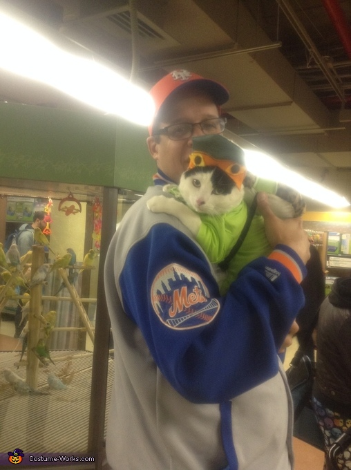 GO METS, Teenage Mutant Ninja Turtles Costume
