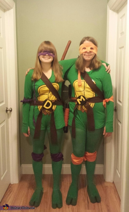 Donatello and Michelangelo Costume