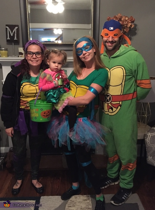 Teenage Ninja Turtles Homemade Costume
