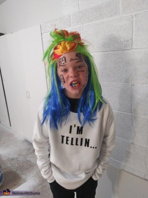 Tekashi 69. I'm Tellin Costume