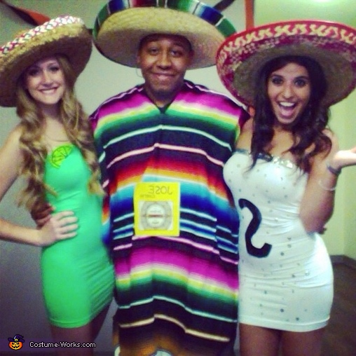 Tequilla, Salt and Lime Costume