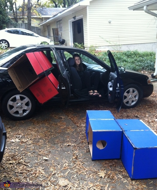 Needed a Bigger Car!, Tetris Costume