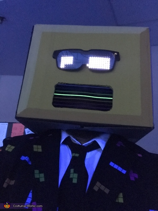 Tetris Homemade Costume