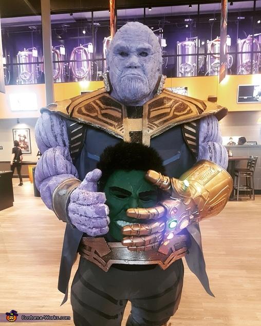 Thanos Homemade Costume