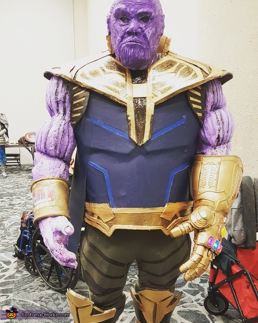 Thanos Homemade Costume