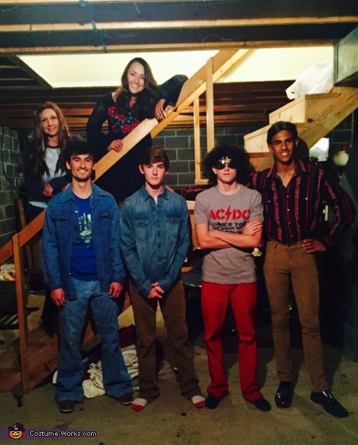 That 70s Show Costume  sc 1 st  Costume Works & That 70s Show Group Halloween Costume
