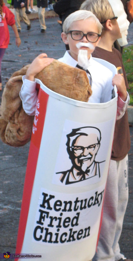 The Colonel (KFC) - Homemade costumes for boys