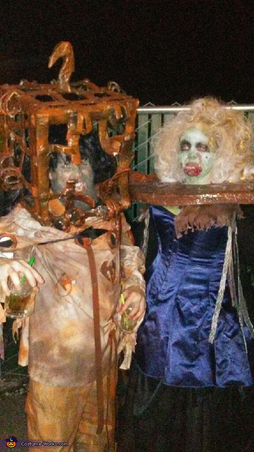 The 13 Ghosts Pilgrimess and Jackal Costume