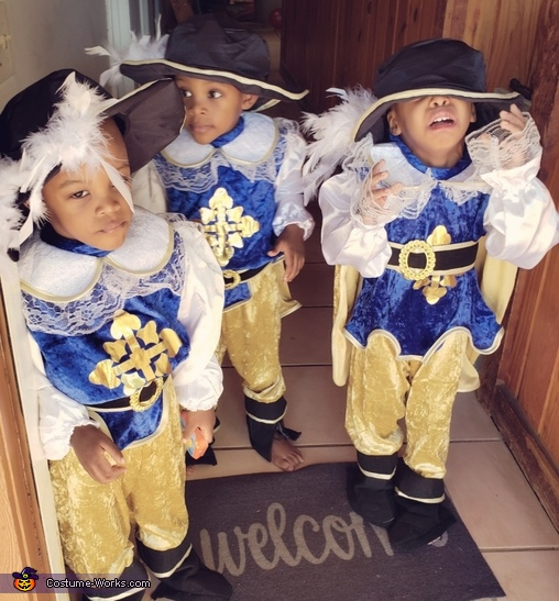 The 3 Musketeers Costume