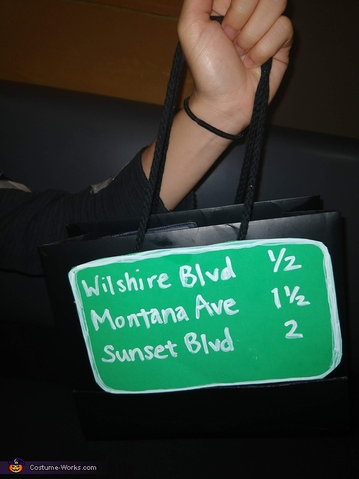 Because every lady highway needs a purse, The 405 Interstate Highway Costume