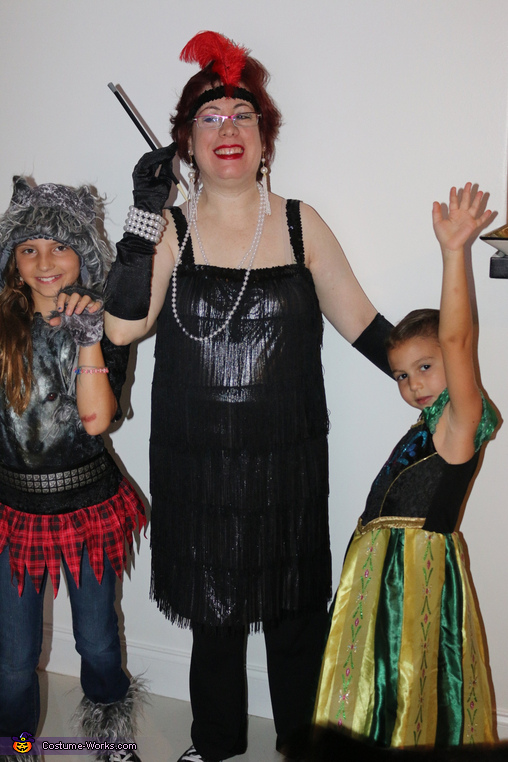The 50's Flapper with Anna & Wolfgirl Costume