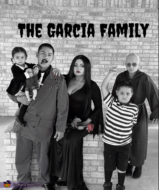 The Garcia Family, The Addams Family Costume