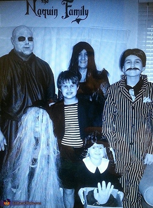 The Crazy Naquin Family, The Addams Family Movie Costume