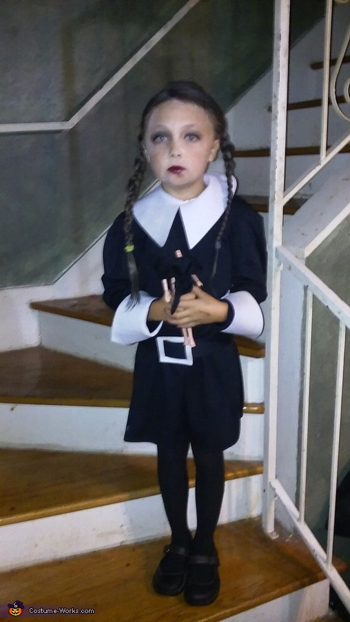 Wednesday Addams, The Addams Family Costume