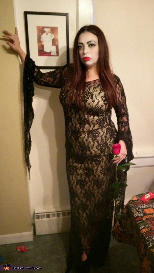 Morticia, The Addams Family Costume
