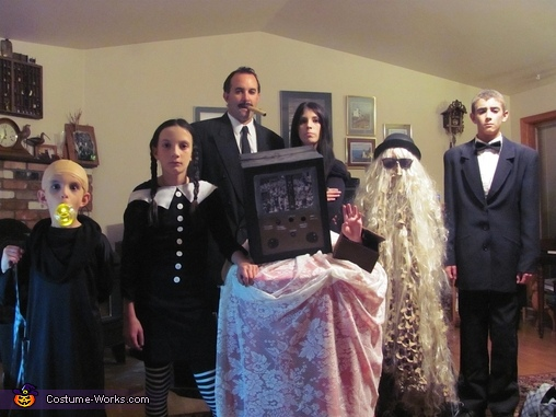 The Addams Family Costume