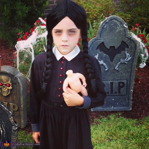 Wednesday Addams, The Addams Family Costumes
