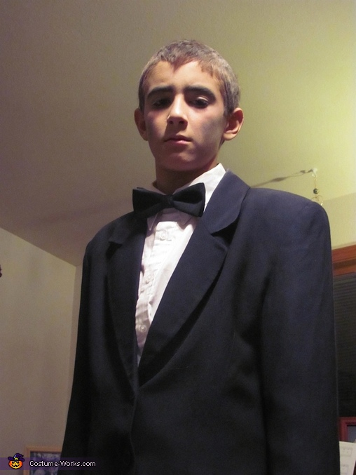 Lurch-Our 13 year old, The Addams Family Costume