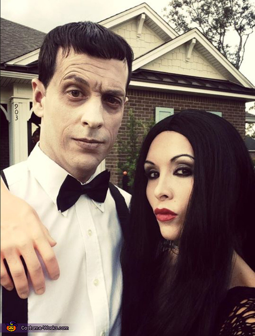 Lurch and Morticia Addams, The Addams Family Costumes