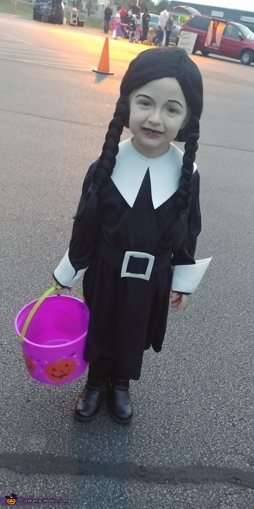 Wednesday, The Addams Family Costume