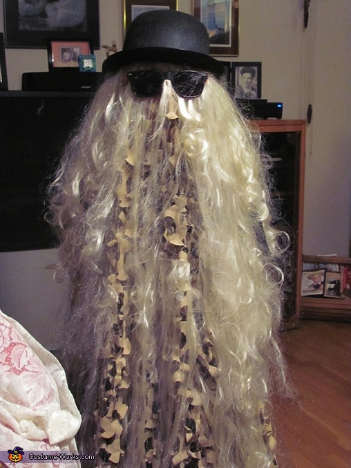 Cousin Itt- Our 9 year old, The Addams Family Costume