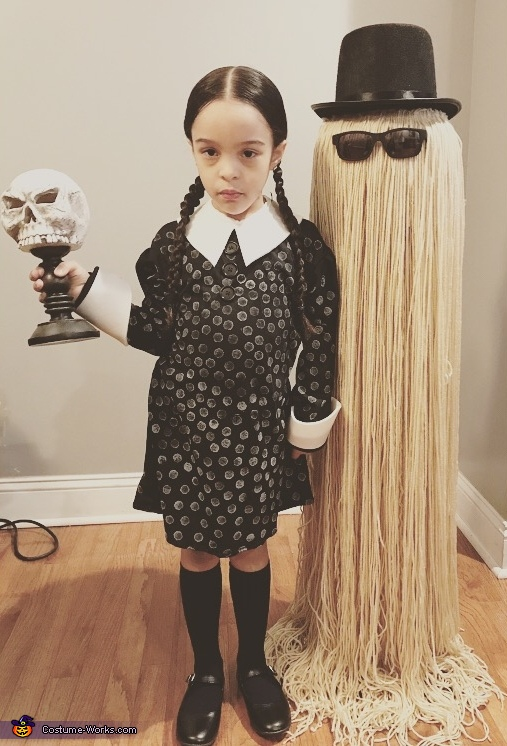 Wednesday Adam, The Addams Family Costume