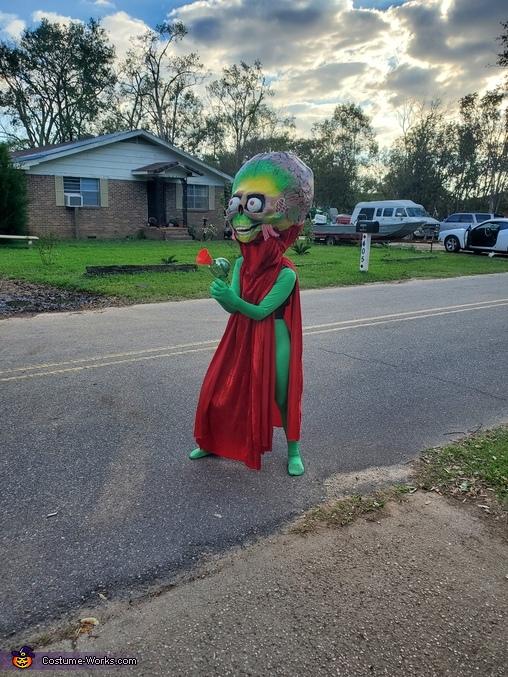 The Alien Ambassador from Mars Attacks! Homemade Costume