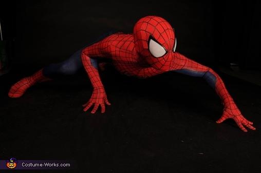 The Amazing Spiderman Homemade Costume