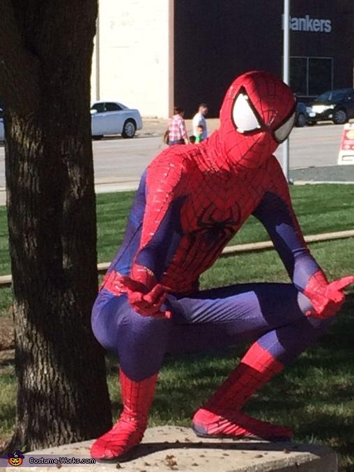 The Amazing Spiderman Halloween Costume