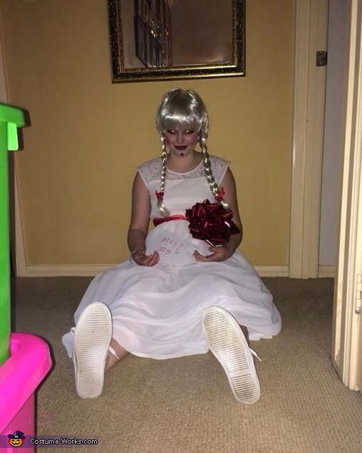 The Annabelle Doll Costume