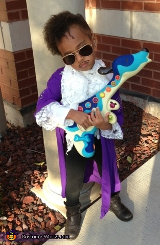 The Artist Formerly Known as Prince Costume