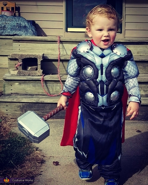My son,  Alexander, as Thor., The Avengers Costume