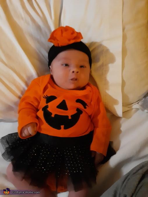 My first halloween, The Baby Pumpkin Costume