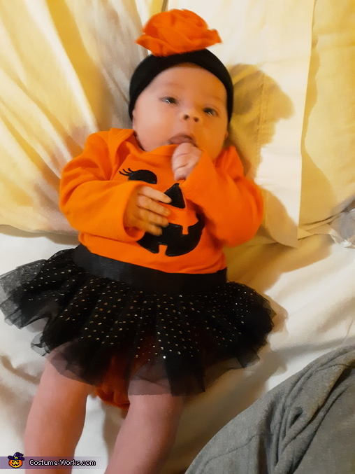 My first halloween, The Baby Pumpkin Costume