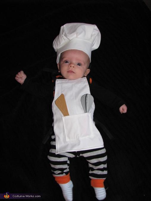 The Baking Family Homemade Costume
