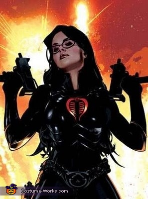 The cartoon the costume is based on, The Baroness Costume