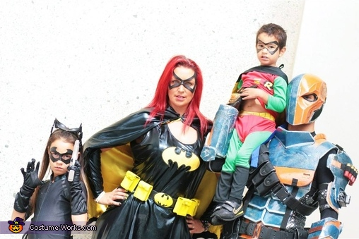 The Bat Family Costume
