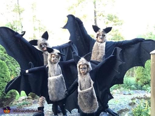 The Bat Family Costume