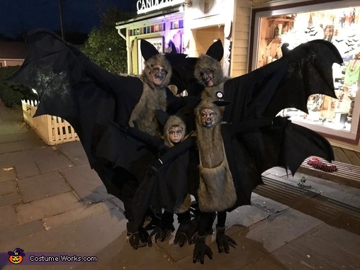 The Bat Family Homemade Costume