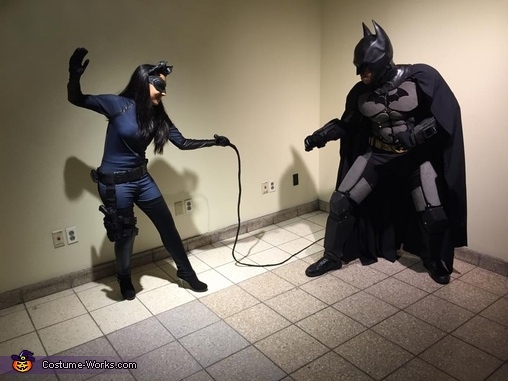 Bat fights the Cat, The Batman & Catwoman Costume