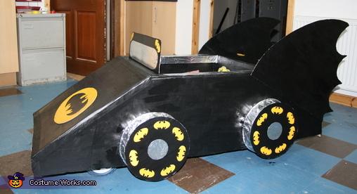 The Batmobile Homemade Costume