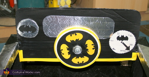 The Batmobile Homemade Costume