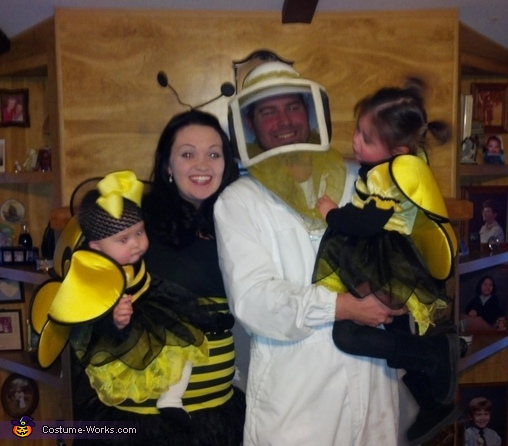 The Beekeeper and his Bees Costume
