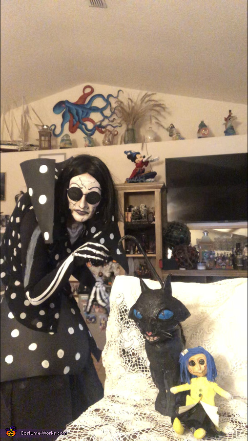 Another view, The Beldam - Coraline's Other Mother Costume