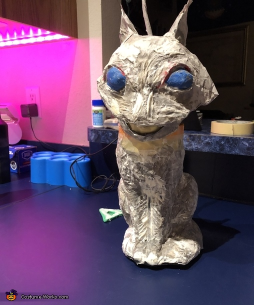 Animated cat (during), The Beldam - Coraline's Other Mother Costume