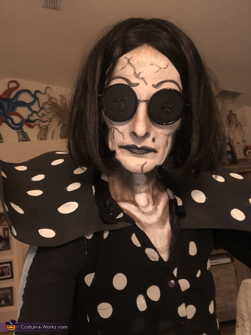 Face paint, The Beldam - Coraline's Other Mother Costume
