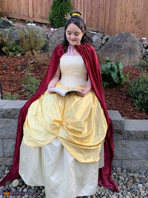 The Belle of the Ball Homemade Costume